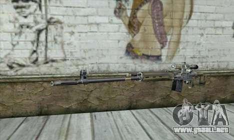 Rifle de francotirador de un Acosador para GTA San Andreas