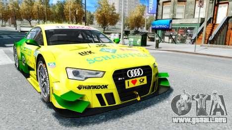 Audi RS5 DTM para GTA 4