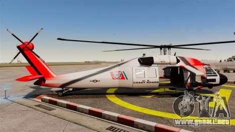 Annihilator U.S. Coast Guard HH-60 Jayhawk para GTA 4 left