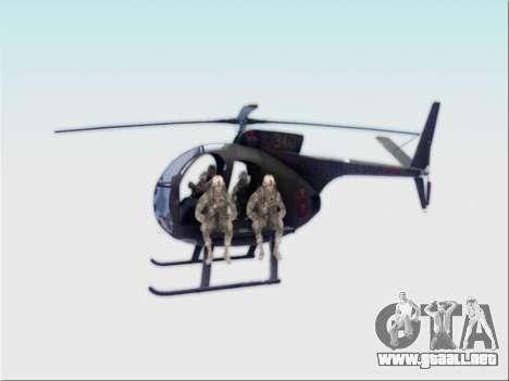 OH-6 Cayuse para GTA San Andreas