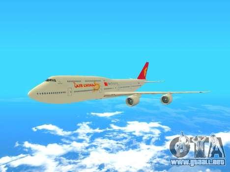 Boeing 747 Air China para GTA San Andreas