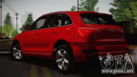 Audi Q5 2012 para GTA San Andreas left
