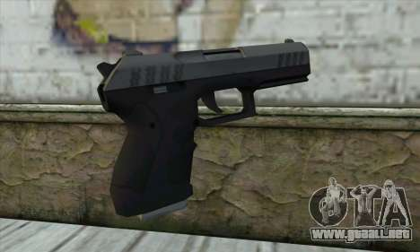 GTA V Combat Pistol para GTA San Andreas segunda pantalla