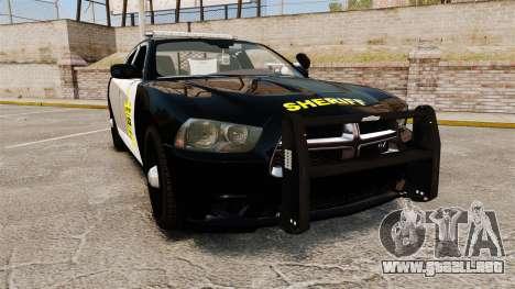 Dodge Charger 2013 LCSO [ELS] para GTA 4
