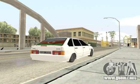 De los FLOREROS 2114 Avtosh para visión interna GTA San Andreas