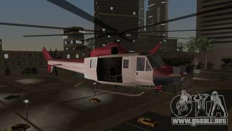 Bell HH-1D para GTA Vice City vista lateral izquierdo
