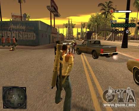 C-HUD Lite v2.0 para GTA San Andreas