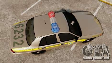 Ford Crown Victoria NLSP [ELS] para GTA 4 visión correcta