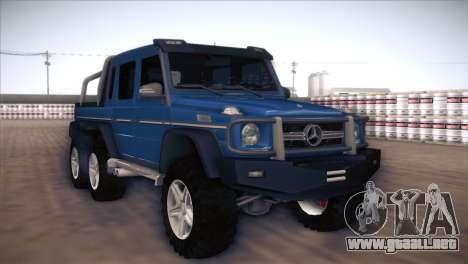 Mercedes-Benz G63 AMG 6X6 para GTA San Andreas left