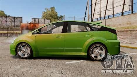 Karin Dilettante new wheels para GTA 4 left