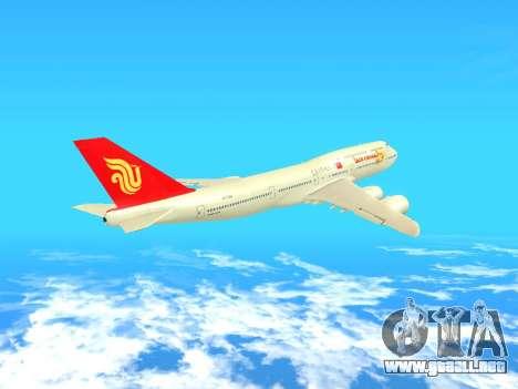 Boeing 747 Air China para visión interna GTA San Andreas