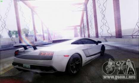 Lensflare By DjBeast para GTA San Andreas novena de pantalla