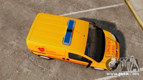 Peugeot Bipper LP EXPRESS [ELS] para GTA 4 visión correcta