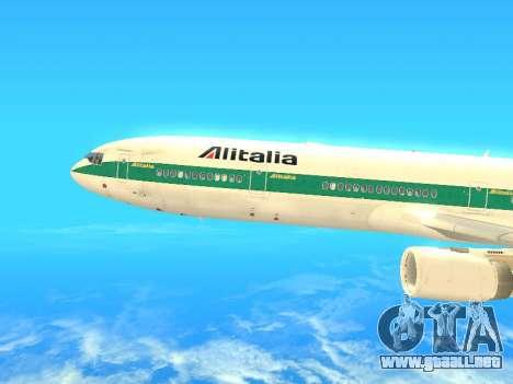 McDonnell Douglas MD-11 Alitalia para GTA San Andreas left