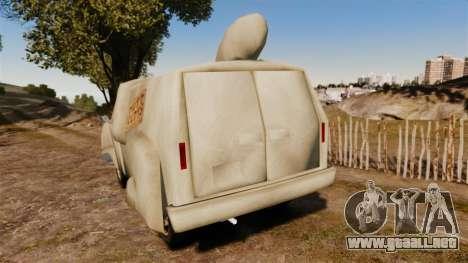 Van-ni idea- para GTA 4 Vista posterior izquierda