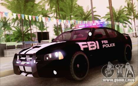 Dodge Charger SRT8 FBI Police para GTA San Andreas