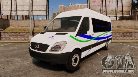 Mercedes-Benz Sprinter Itella Logistics para GTA 4