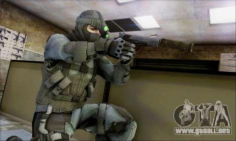 Alfa Team Weapon Pack para GTA San Andreas sucesivamente de pantalla