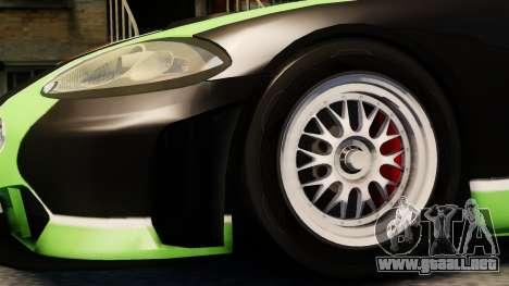 Jaguar XKR GT para GTA 4 visión correcta