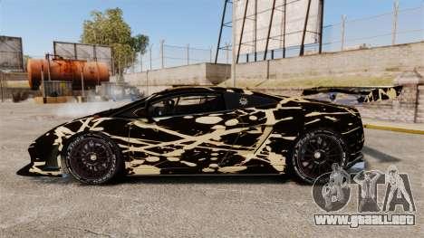 Lamborghini Gallardo LP560-4 GT3 2010 BLOB para GTA 4 left