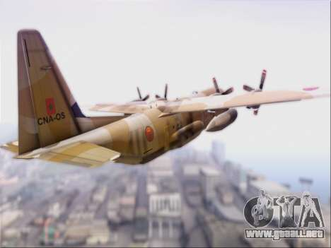 C-130 Hercules Royal Moroccan Air Force para la visión correcta GTA San Andreas