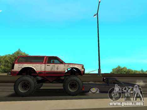 Street Monster para vista inferior GTA San Andreas