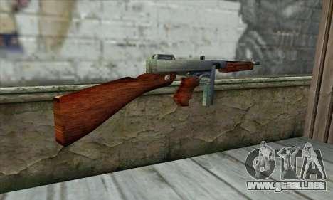 Thompson M1 para GTA San Andreas segunda pantalla