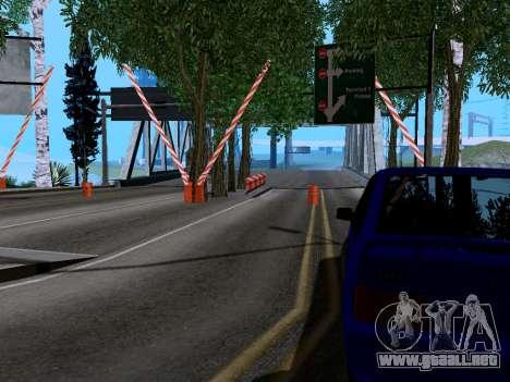 Customs Los Santos, San Fierro v2.0 para GTA San Andreas segunda pantalla