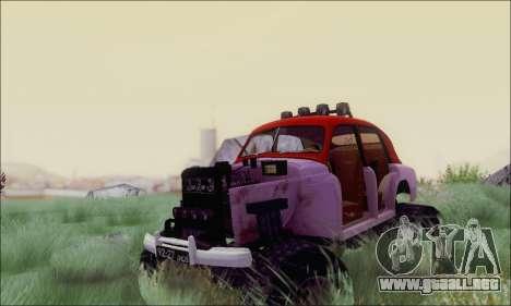 GAS M20 Monstruo para GTA San Andreas vista hacia atrás