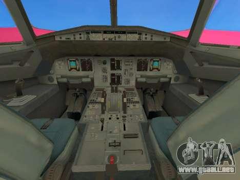 Airbus A320-200 WizzAir para visión interna GTA San Andreas