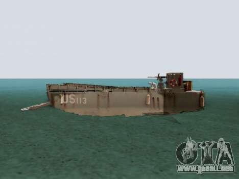Landing Craft para GTA San Andreas left
