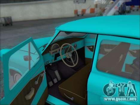 GAZ 21 para la vista superior GTA San Andreas