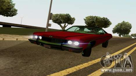 Chevrolet Caprice Coupe 1973 para GTA San Andreas left