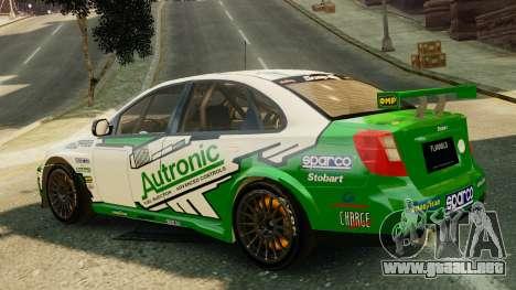 Chevrolet Lacetti para GTA 4 left
