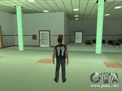 Daryl Dixon para GTA San Andreas segunda pantalla