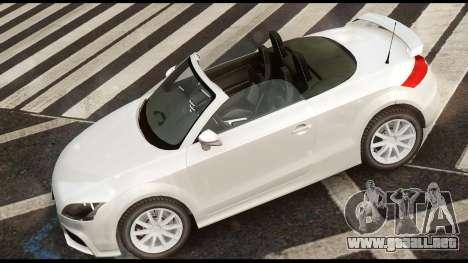 Audi TT RS v1.0 para GTA 4 Vista posterior izquierda