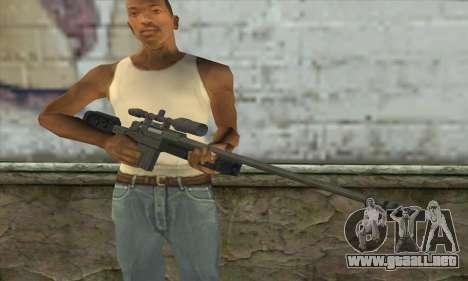 GTA V Sniper rifle para GTA San Andreas tercera pantalla