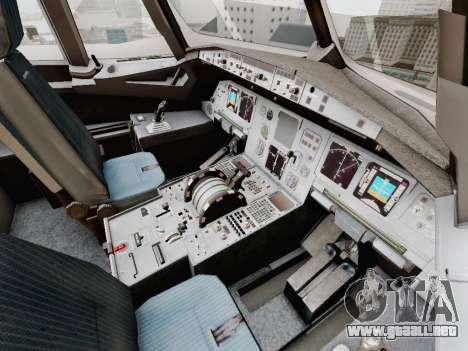 Airbus A320-211 China Eastern para vista inferior GTA San Andreas