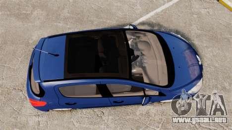 Peugeot 308 GTI para GTA 4 visión correcta