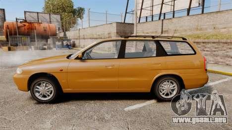 Daewoo Nubira I Wagon CDX PL 1998 para GTA 4 left