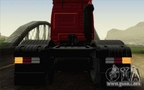Mercedes-Benz Actros para visión interna GTA San Andreas
