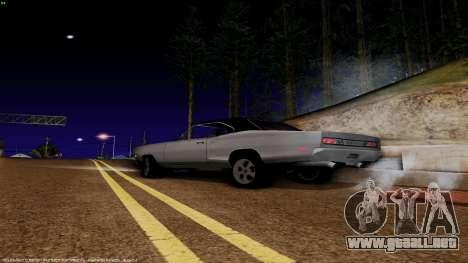 Dodge Coronet RT 1969 440 Six-pack para GTA San Andreas left