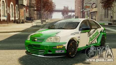 Chevrolet Lacetti para GTA 4