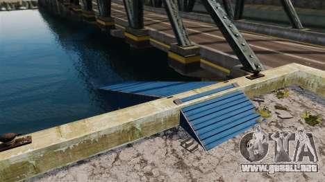 La carretera por debajo del puente para GTA 4 segundos de pantalla