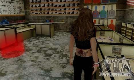 Carlita para GTA San Andreas tercera pantalla