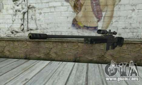 GTA V Sniper rifle para GTA San Andreas