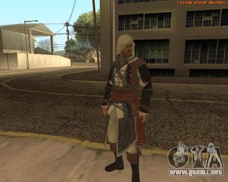 Asesino Edward para GTA San Andreas