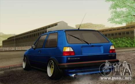 Volkswagen Golf MK2 LowStance para GTA San Andreas left