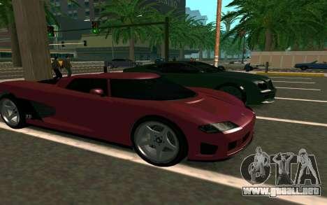 GTA V Entity XF para GTA San Andreas vista hacia atrás