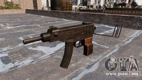 SUBFUSIL Skorpion vz. 61 para GTA 4 tercera pantalla